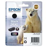 Atrament Epson C13T26214010 black T2621, 26XL